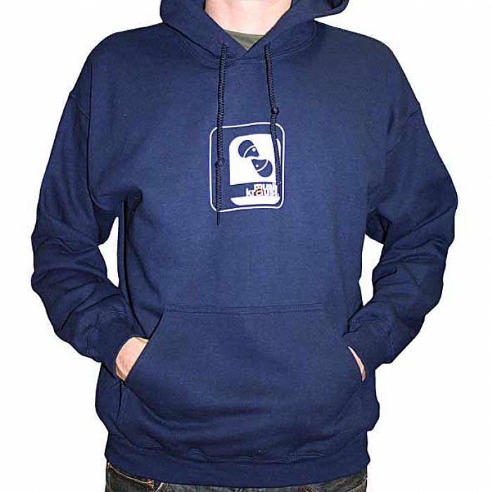 4feaf81c1 MUSIK KRAUSE - Musik Krause Hooded Sweatshirt (navy blue with white logo)