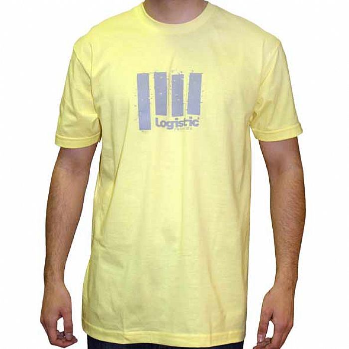 LOGISTIC - Logistic Designs T-Shirt (yelllow with grey logo)