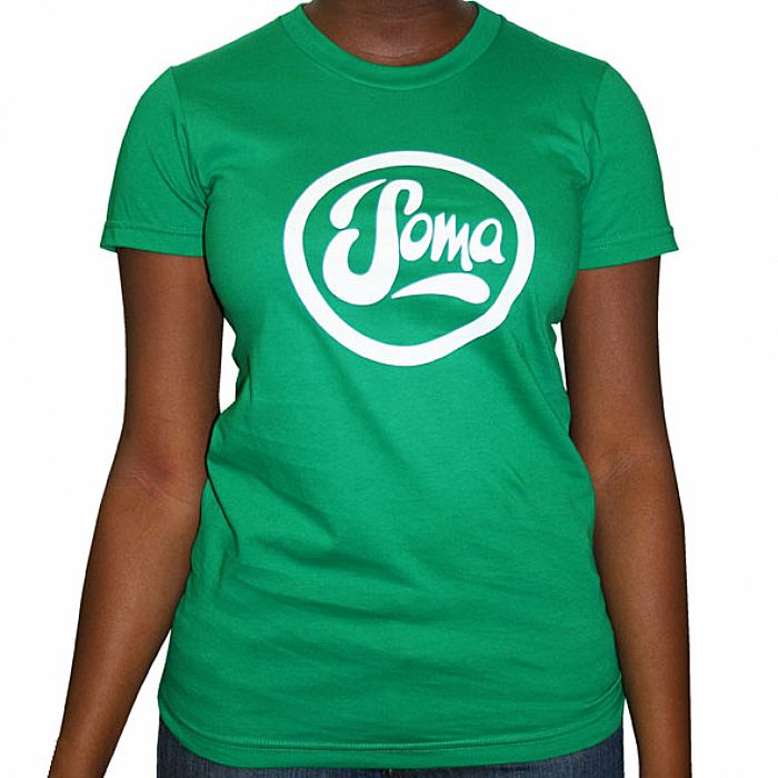 SOMA - Soma T-Shirt (Kelly green with white logo)