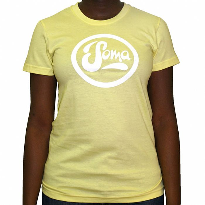 SOMA - Soma T-Shirt (yellow with white logo)