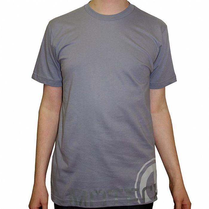MOTECH LOW - Motech Low T-Shirt (Slate grey with grey logo)
