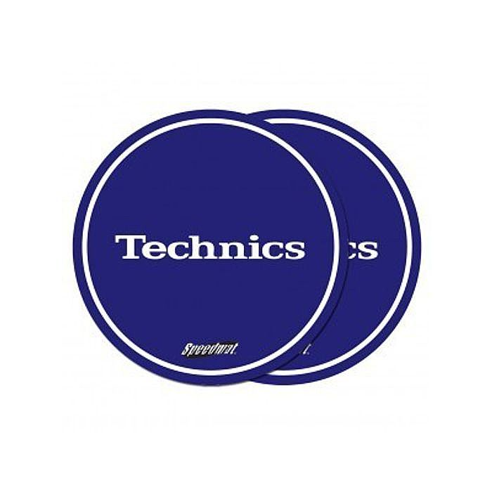 TECHNICS - Technics Speedmat Slipmats (royal blue, white logo)