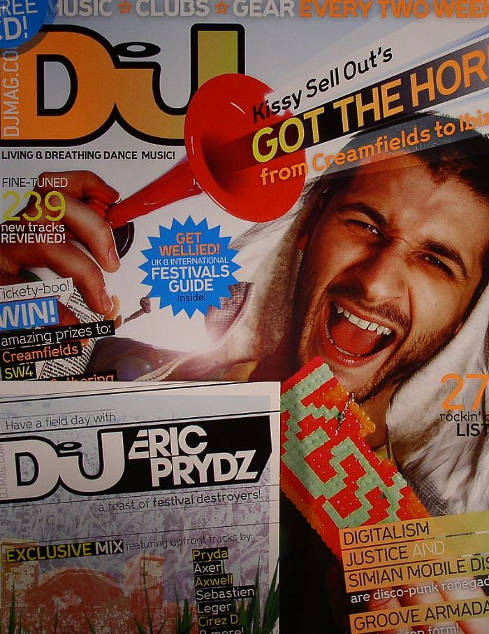 DJ MAGAZINE - DJ Magazine 23 May - 05 June 2007: Vol 4/No 41 (feat Kissy Sell Out, Digitalism, Justice, Simian Mobile Disco, Groove Armada, Ame, 239 new tracks reviewed, 275 club listings + Eric Prydz mixed CD)