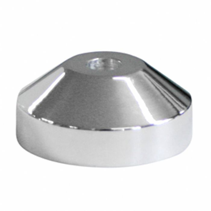 45 CENTRAL - 45 Central Classic Aluminium Spindle 45 Adapter (silver)