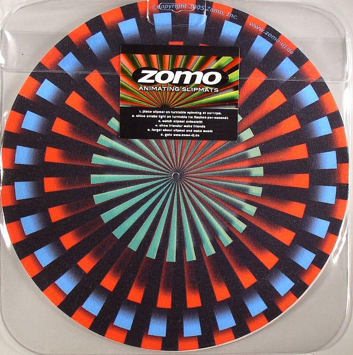 ZOMO - Zomo Animating Slipmats (Pinwheel 1 Red)