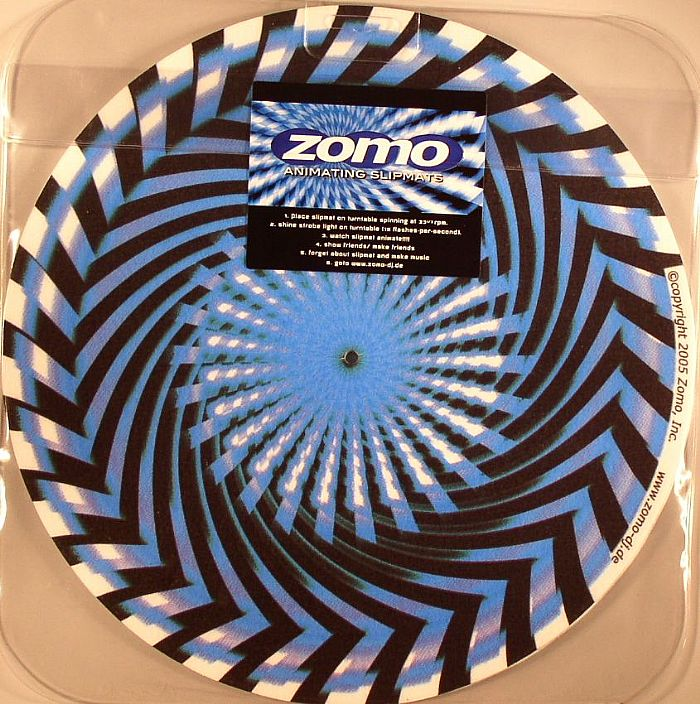 ZOMO - Zomo Animating Slipmats (Saw Blue)