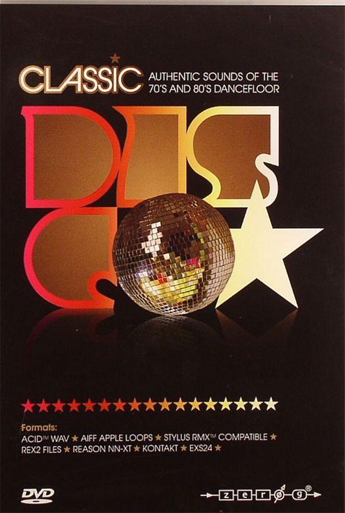 CLASSIC DISCO - Classic Disco: Authentic Sounds Of The 70's & 80's Dancefloor - The Essential Retro Dance Sample Library