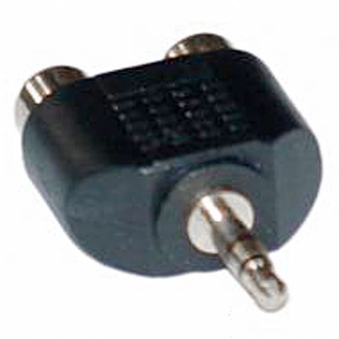 AVSL - AVSL Double Adapter Plug (black)