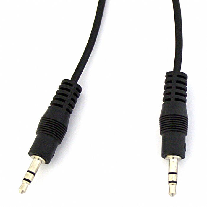 AV LINK - AV Link 3.5mm Mini Jack To 3.5mm Mini Jack Stereo Audio Cable (black, 1.2m)