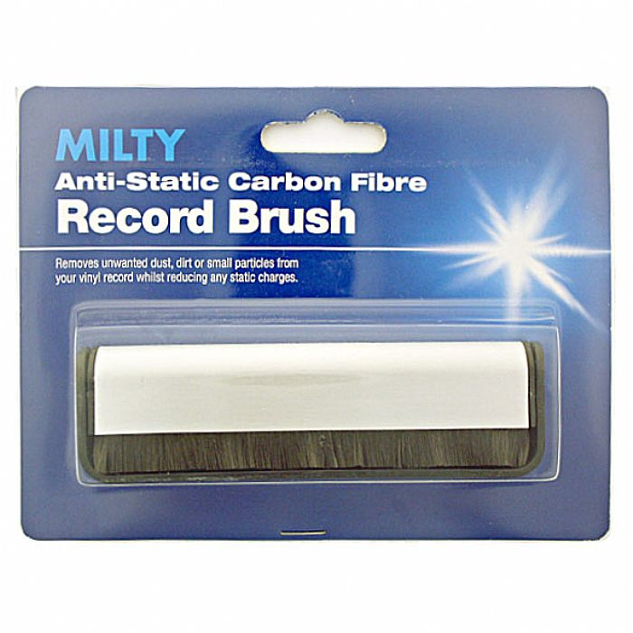 MILTY - Milty Anti-Static Carbon Fibre Vinyl Record Brush