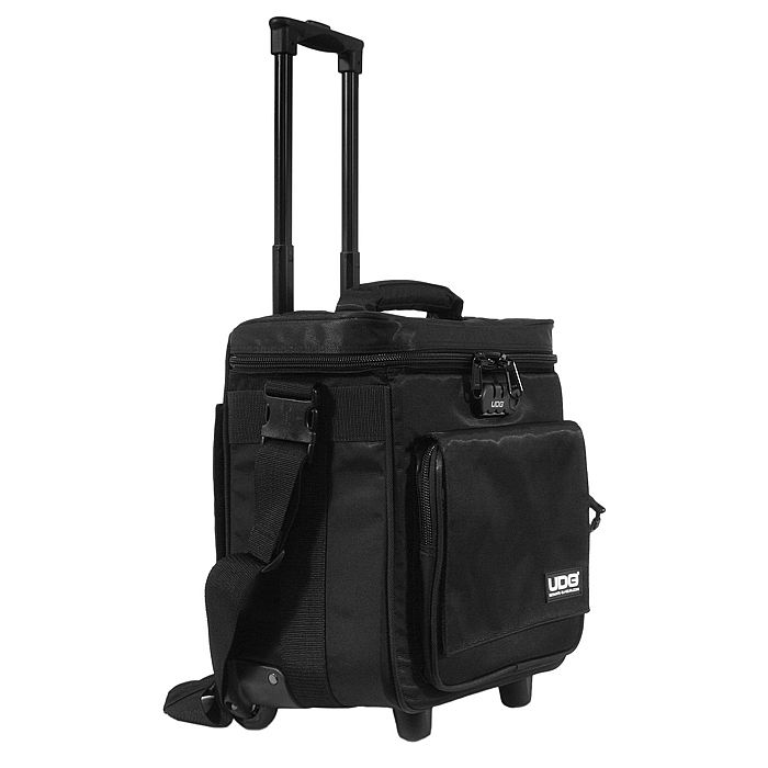 UDG - UDG Trolley To Go Hand Luggage DJ 12 Inch Vinyl Record Trolley (black)