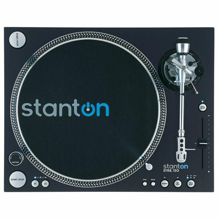 STANTON - Stanton STR8 150 Digital Super High Torque DJ Turntable