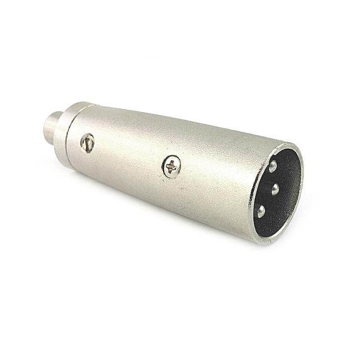 QTX - QTX Male XLR Plug To Female Phono (RCA) Socket