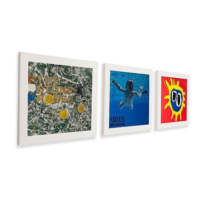 ART VINYL Art Vinyl Play & Display Flip Frame Triple Pack (white ...