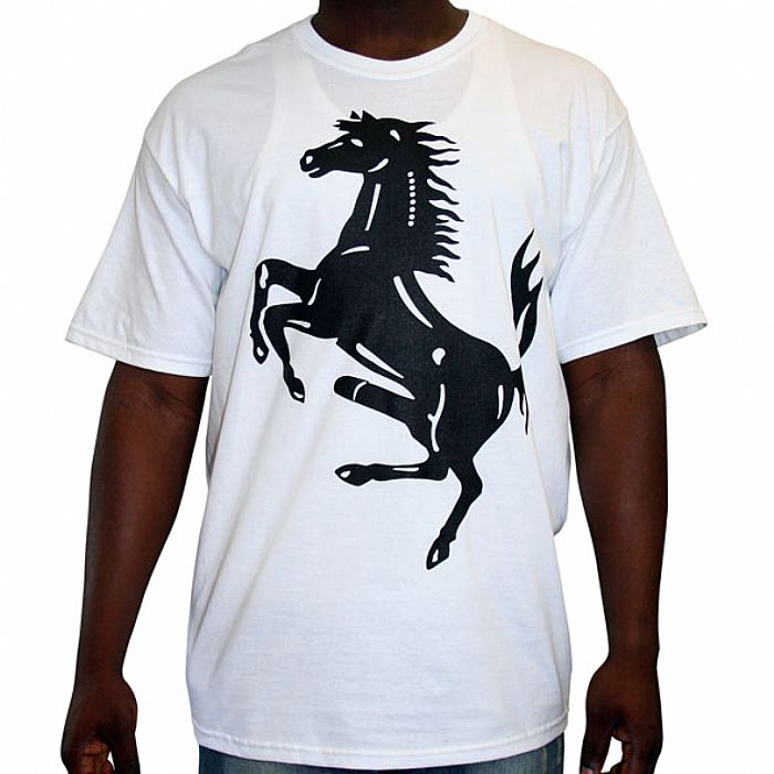 HORSE MEAT DISCO - Horse Meat Disco T-Shirt (white with black logo front & back)