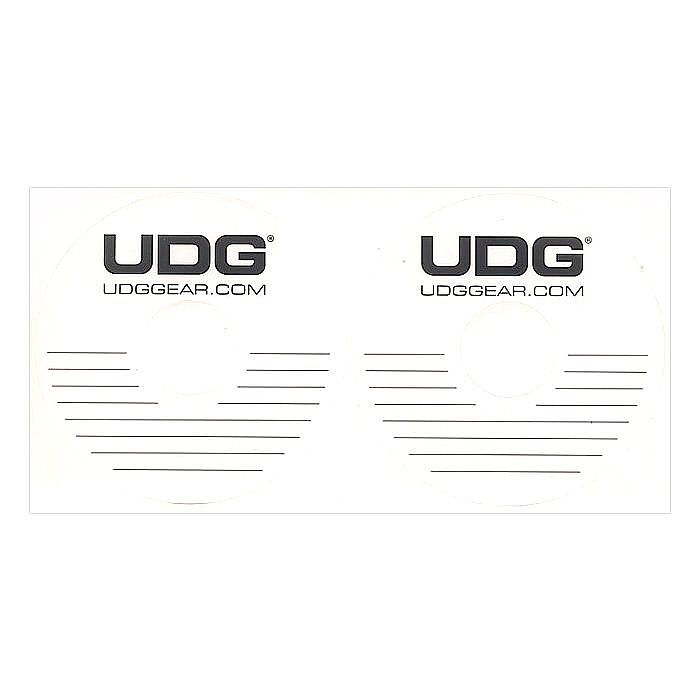 UDG CD DVD Label Stickers