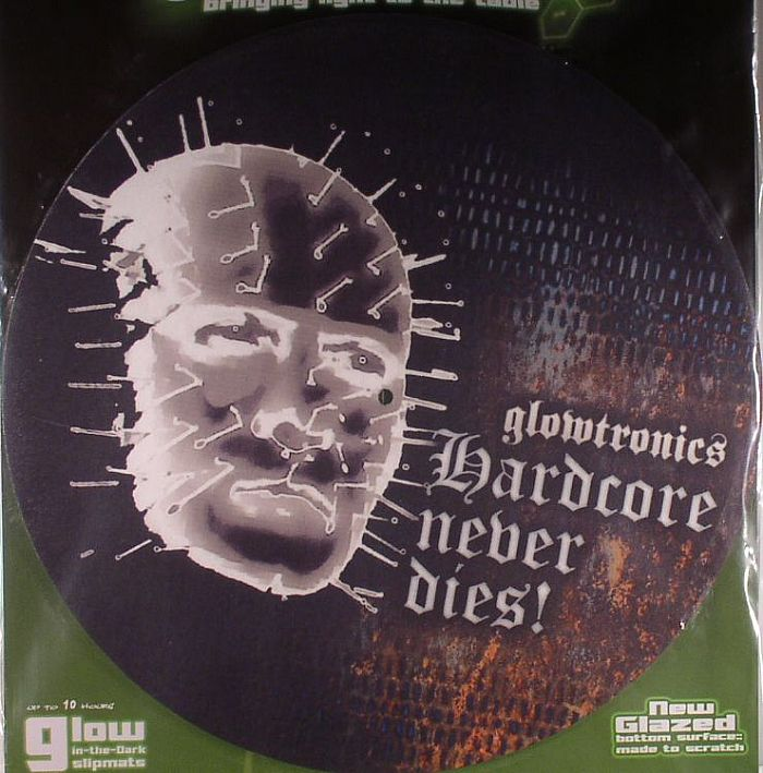 GLOWTRONICS - Glowtronics Hardcore Glow In The Dark Slipmats (pair)