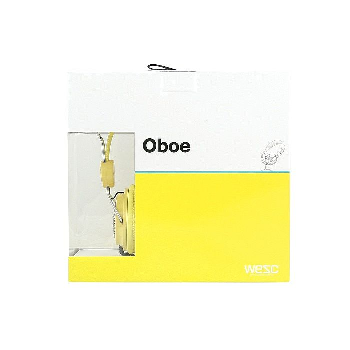 wesc wesc oboe core headphones vibrant yellow vinyl at juno records. Black Bedroom Furniture Sets. Home Design Ideas