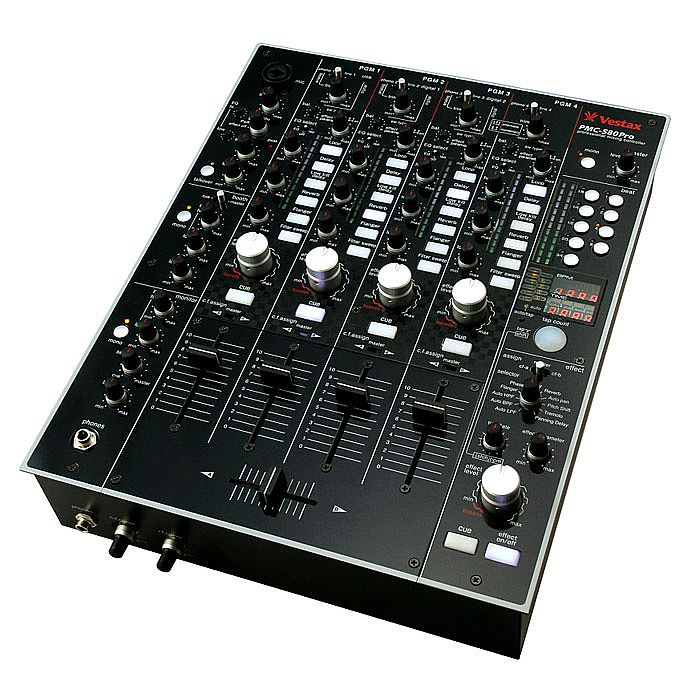VESTAX Vestax PMC 580 Pro Mixer Vinyl At Juno Records
