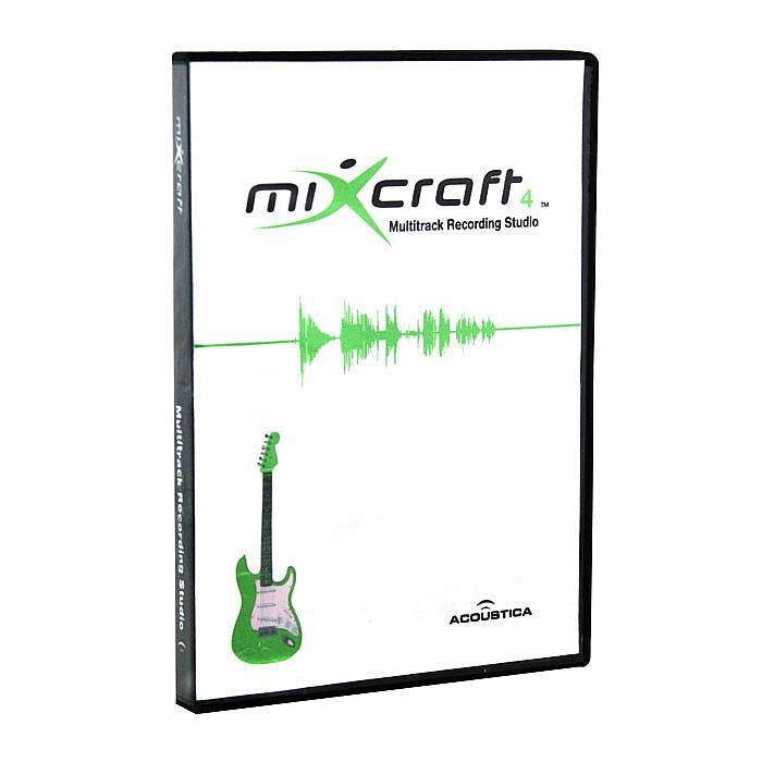Mixcraft 4 (multi-track audio & MIDI recording software for Windows PC,  works with Acid & Apple Garage Band loops, includes 18 effects a general  MIDI