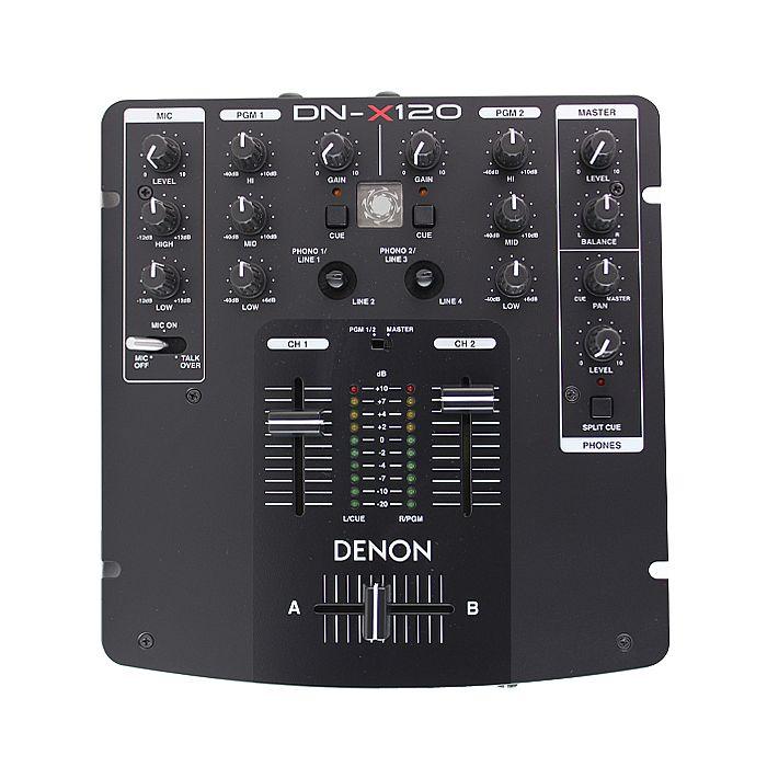 DENON - Denon X120 Mixer (compact battle mixer)