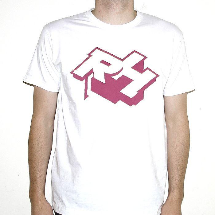 Rush Hour Rush Hour T Shirt White With Maroon Logo Vinyl