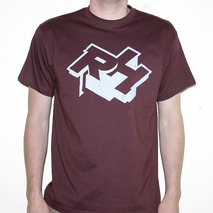 Rush Hour Rush Hour T Shirt Burgundy With Blue Logo