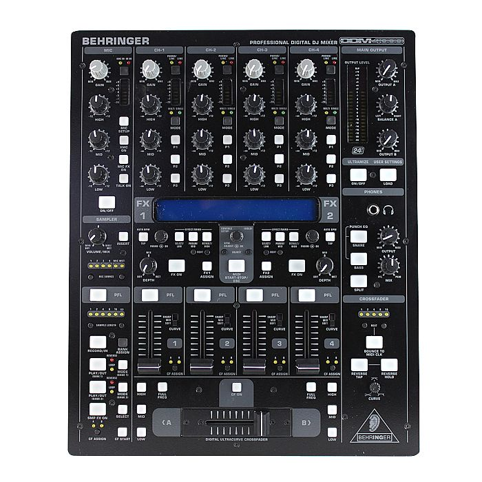 BEHRINGER Behringer DDM4000 Mixer Vinyl At Juno Records