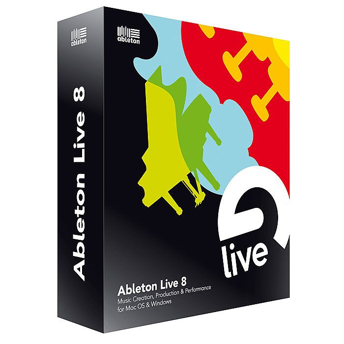 ABLETON - Ableton Live 8 DJ & Music Production Software