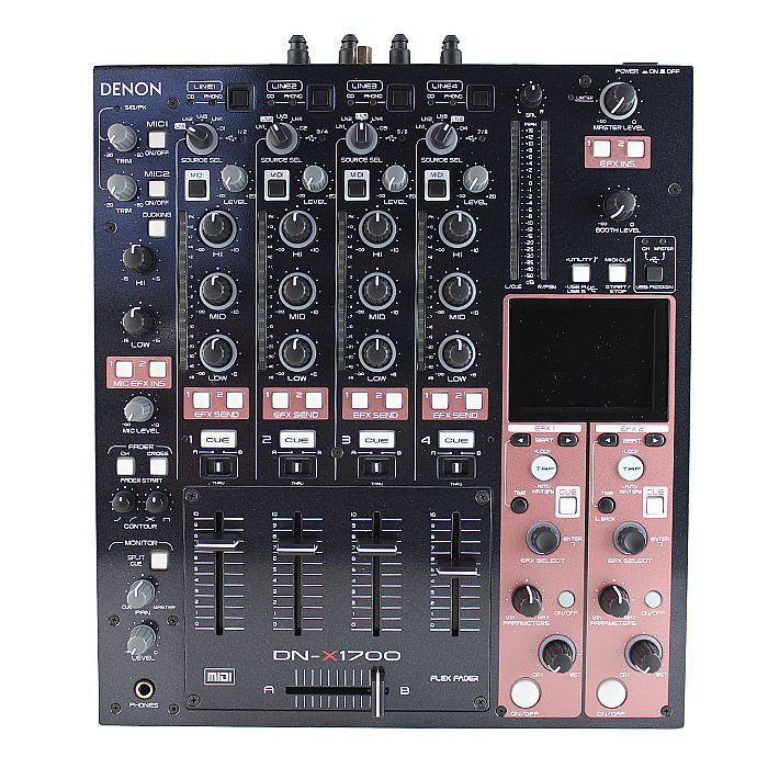 DENON - Denon DNX1700 Digital DJ Mixer