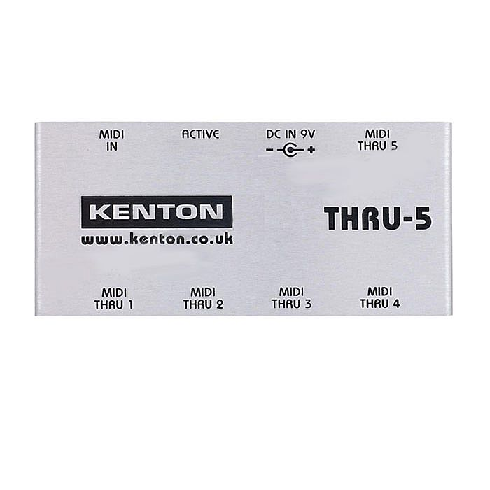 KENTON - Kenton THRU5 MIDI Thru Box *SUPPLIED WITH UK 3-PIN POWER ADAPTER*