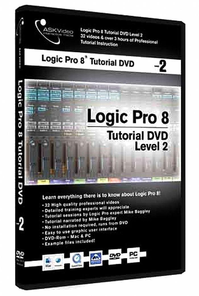 ask video ask video logic pro 8 tutorial dvd level 2 vinyl at juno rh juno co uk Logic Pro 1 Logic Pro 6