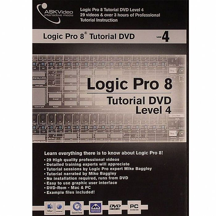 ASK VIDEO - Ask Video Logic Pro 8 Tutorial DVD Level 4