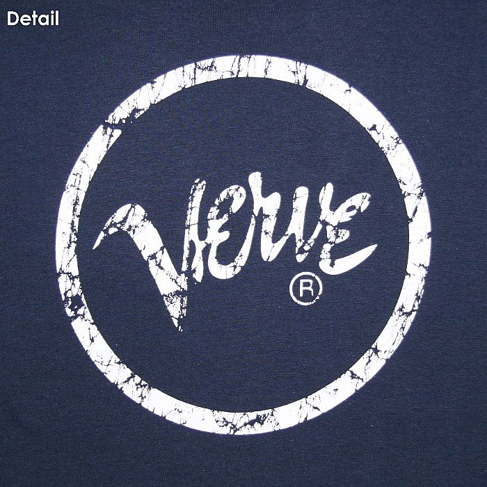 VERVE Verve T Shirt (navy With White Logo) Vinyl At Juno