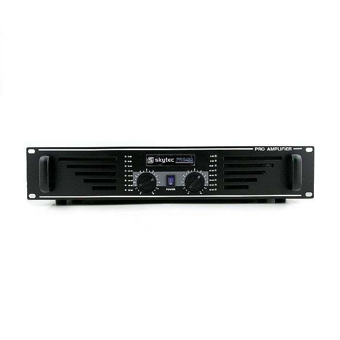Skytec Pro-480 Stereo Power Amplifier (Black)