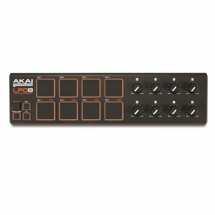 AKAI - Akai LPD8 USB MIDI Laptop Pad Controller