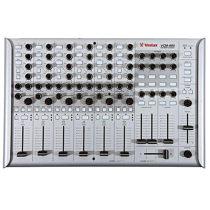 VESTAX - Vestax VCM600 USB MIDI DJ Controller (silver)