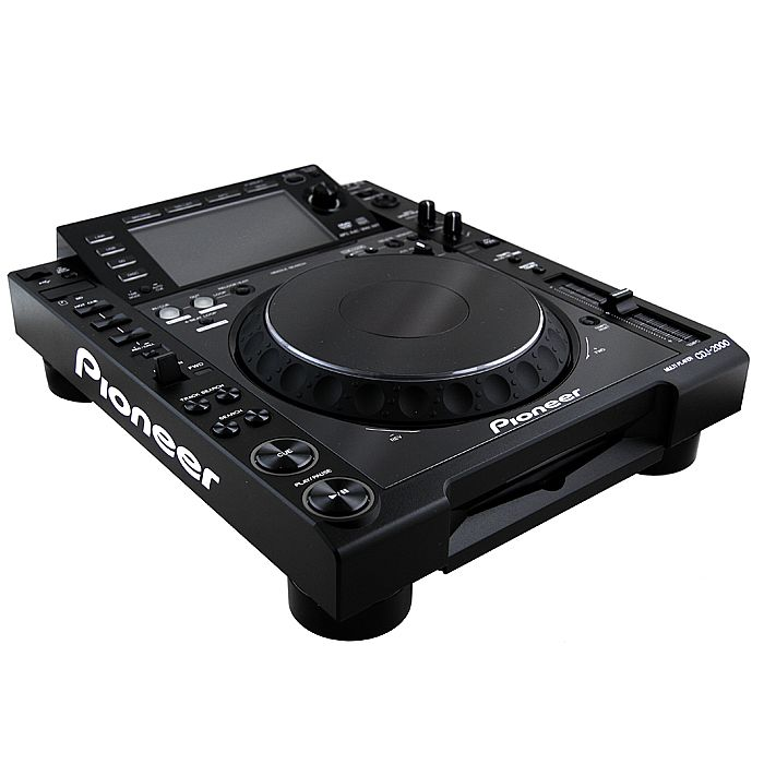 PIONEER - Pioneer CDJ2000 Professional Multi CD USB SD Player (single, black)