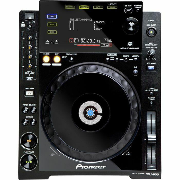 PIONEER - Pioneer CDJ900 Multi CD USB Player (black)