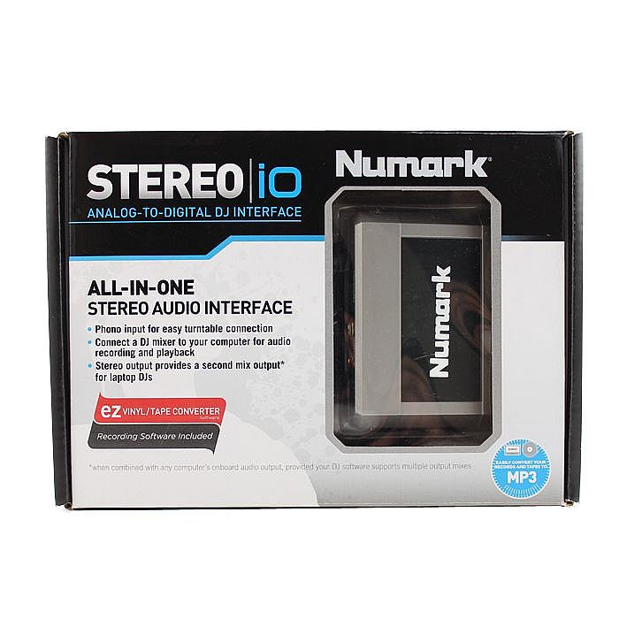 numark stereo io analog to digital dj audio interface ebay. Black Bedroom Furniture Sets. Home Design Ideas