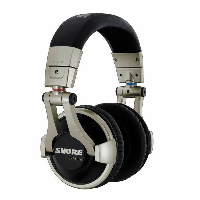 SHURE - Shure SRH750 DJ Professional Headphones (silver)