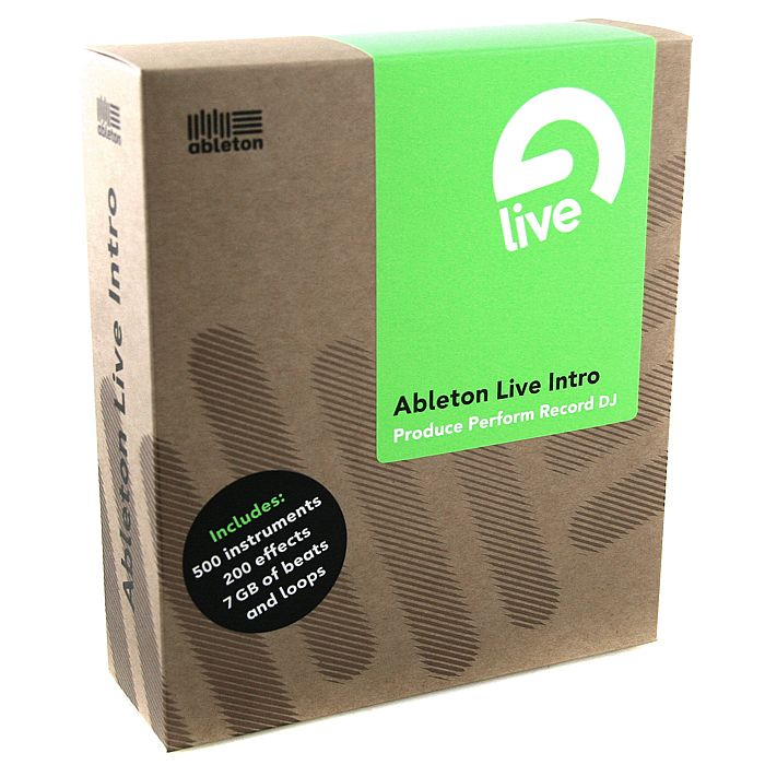ABLETON - Ableton Live 8 Intro DJ & Music Production Software