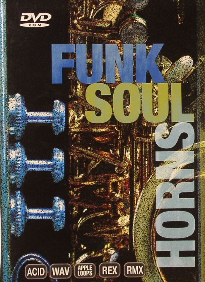 Funk Soul Horns (library of classic horn section licks and solos in Wav,  Apple Loops, Rex, RMX & Acid formats)
