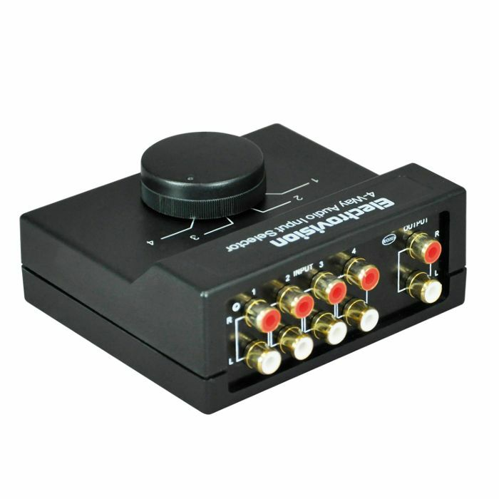ELECTROVISION Electrovision 4 Way Stereo Audio Interface Input