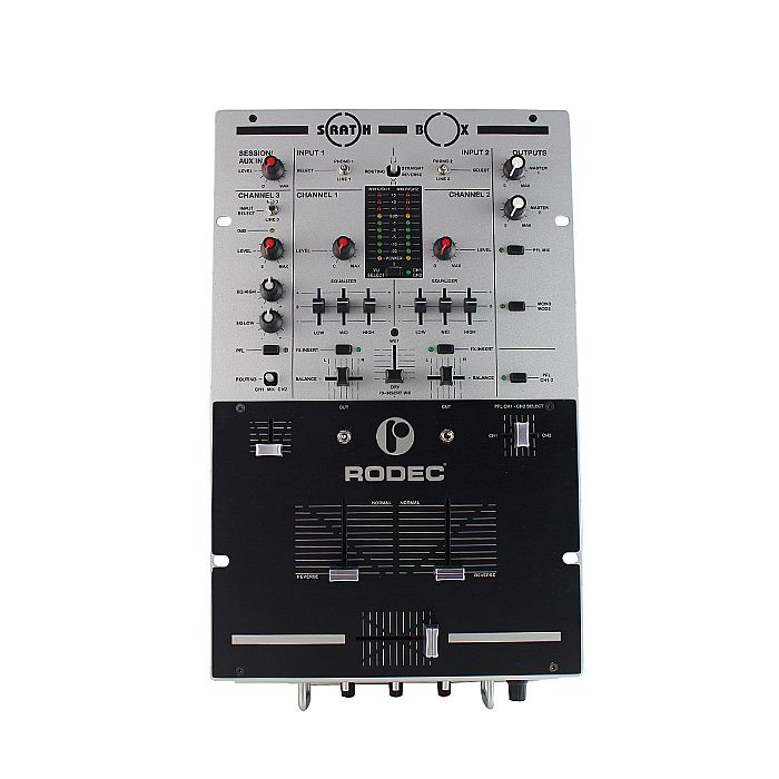 Rodec Scratchbox Professional Scratch DJ Mixer
