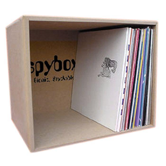 SPYBOX Spybox 10 Vinyl Record Storage Box 110 vinyl at ...