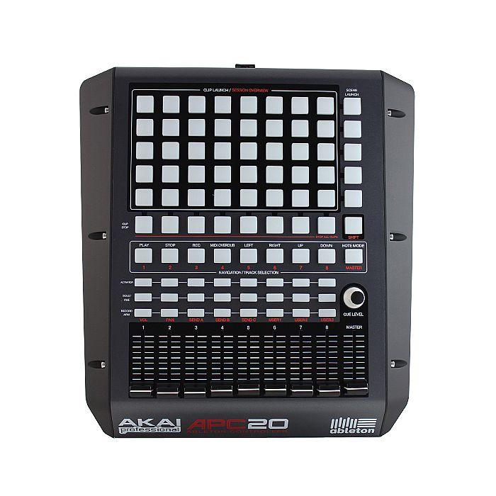 AKAI - Akai APC20 Compact Ableton Performance USB DJ Controller + Ableton Live Akai Professional APC Edition Software
