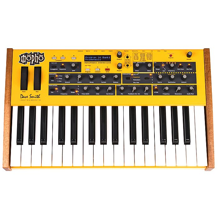 DAVE SMITH INSTRUMENTS - Dave Smith Instruments Mopho Keyboard Analog Synthesizer