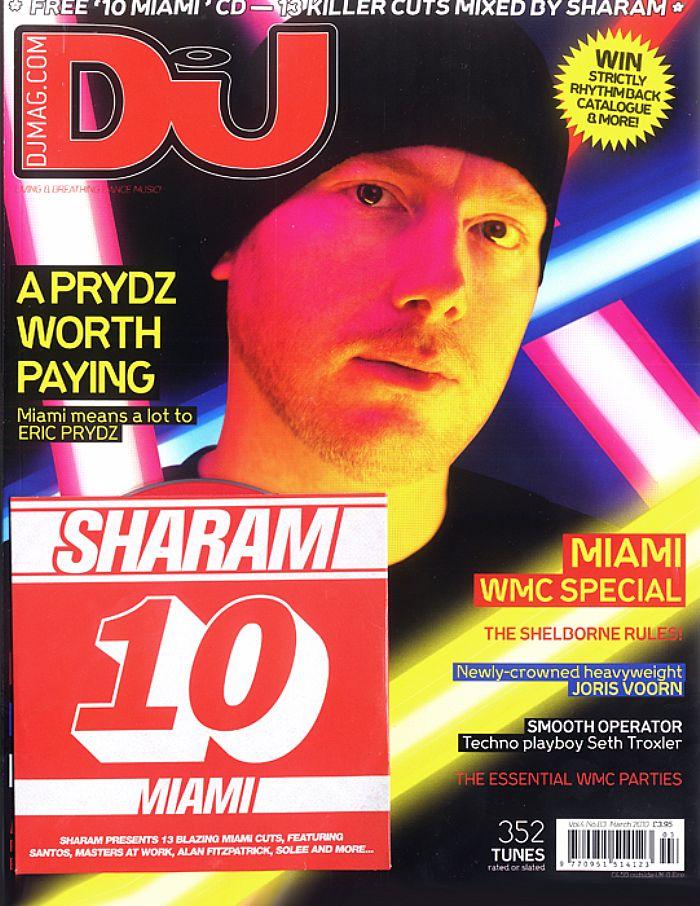 DJ MAGAZINE - DJ Magazine March 2010: Vol 4/#83 (incl. free Sharam mix CD)