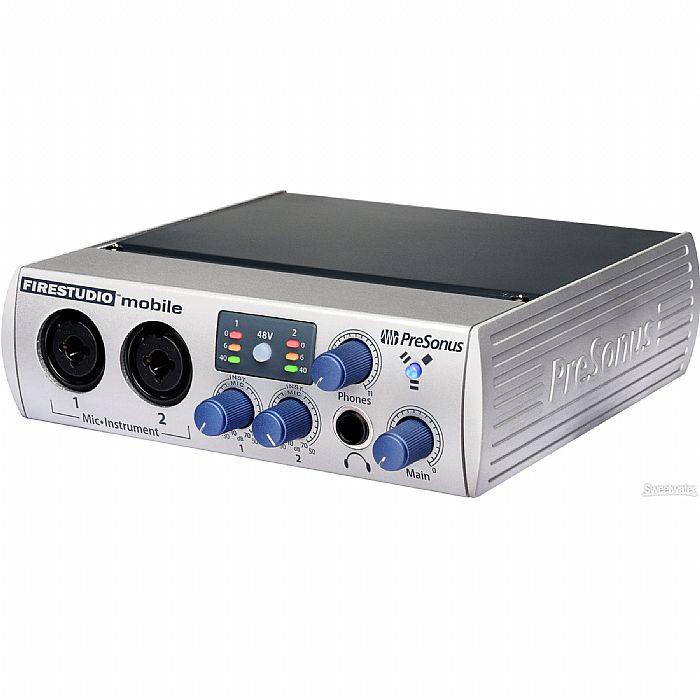 PRESONUS - Presonus FireStudio Mobile Firewire Audio Interface + Studio One Audio Production Software